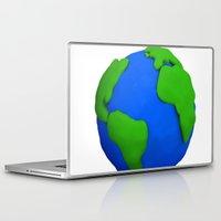 globe Laptop & iPad Skins featuring Globe by Tassos Kotsiras