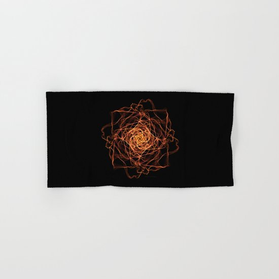 Fire Rose Hand & Bath Towel