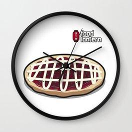 Food Lantern - Okonomiyaki Wall Clock
