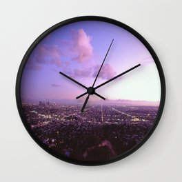 Los Angeles Skyline Wall Clock