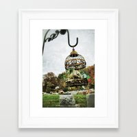 cage Framed Art Prints featuring Cage by Dirty Angel Photography