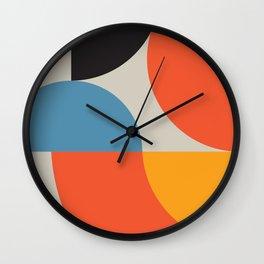 Vintage poster-Bauhaus Ausstellung 1923. Wall Clock