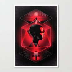 Stranger Things Poster Print Canvas Print