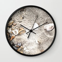 Beach memory Wall Clock
