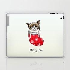 grumpy christmas Laptop & iPad Skin