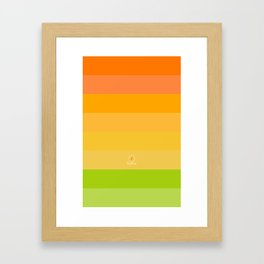 Summer / Nyár Framed Art Print