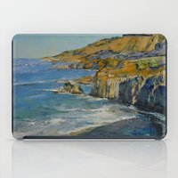 big sur iPad Cases featuring Big Sur by Michael Creese