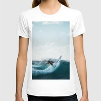 surfing T-shirts featuring Surfing  by Limitless Design