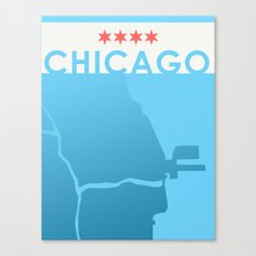 Minimalist Chicago Canvas Print