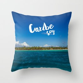 Caribe Soy Throw Pillow