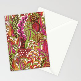 Paisly Pop Tangle #4 Stationery Cards