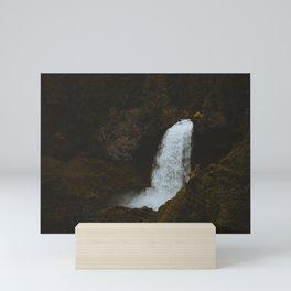 Sahalie Falls Moodiness PNW Mini Art Print