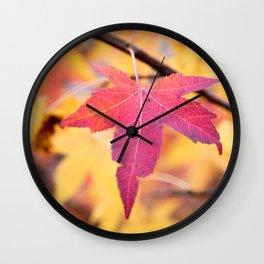 Autumn Still Wall Clock