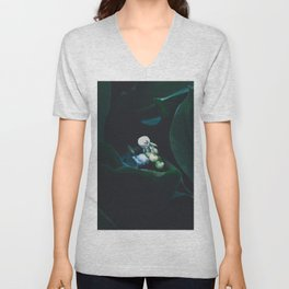Lily of the Valley 2 Unisex V-Neck