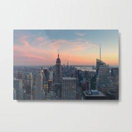 NEW YORK CITY 03 Metal Print