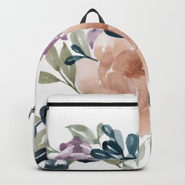 Fall Flowers + Leaves Backpack