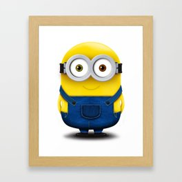Minion BOB Framed Art Print