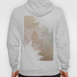 Fern Snowflakes - Golden, bronze & Sage Hoody