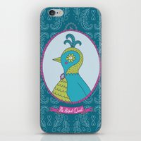 abigail larson iPhone & iPod Skins featuring Ms. Abigail Quail by ABamber