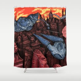 Escaping Reallity Shower Curtain