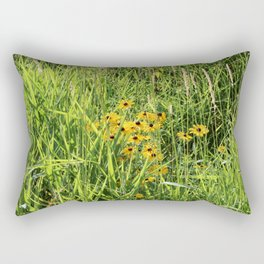 Black Eyed Susan in the Meadow Rectangular Pillow