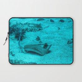 Sting ray taking a bath Laptop Sleeve