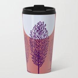 rosa di sera Metal Travel Mug
