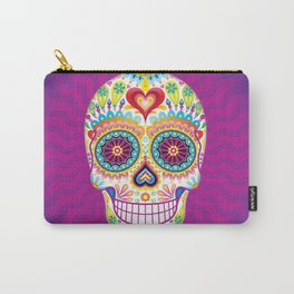 Sugar Skull Art (Luminesce) Carry-All Pouch