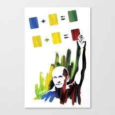 Color theory Canvas Print