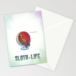 SLOTH LIFE fig. 7. Stationery Cards