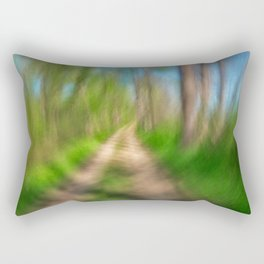 Spinning Sycamore Trail Rectangular Pillow