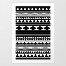 Tribal Art Print