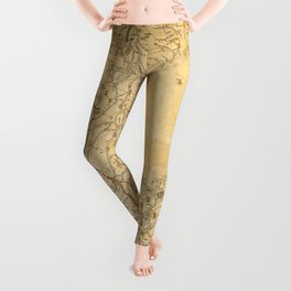 Map of Zhili and Shandong, China (c1855-1870) Leggings