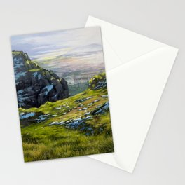 Arthur's Seat - Edinburgh Oil Painting Stationery Cards
