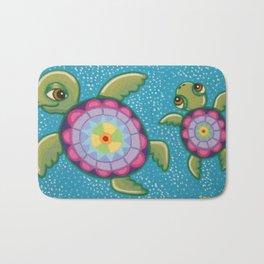 Turtle Family Bath Mat