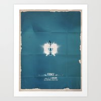 fringe Art Prints featuring FRINGE by Pedro Semedo