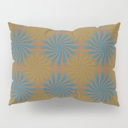 3D Spirals Pillow Sham