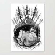 hibernate with me Canvas Print