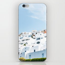 Lost in Santorini Greece iPhone Skin
