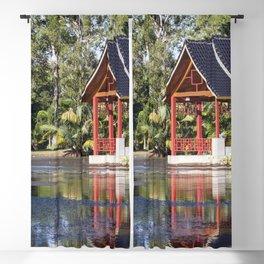 Peaceful Pagoda Blackout Curtain
