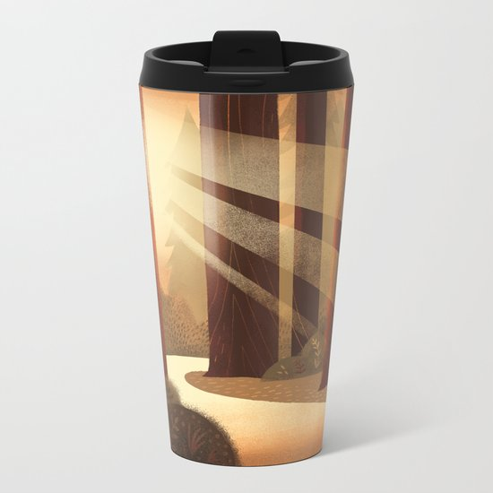 Redwoods Metal Travel Mug