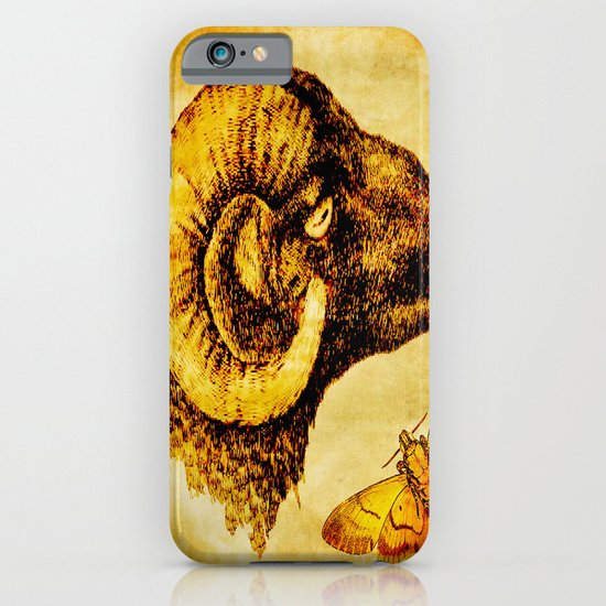 The mystic sheep iPhone & iPod Case