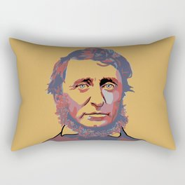 Henry David Thoreau Rectangular Pillow