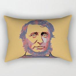 Henry David Thoreau Rectangular Pillow