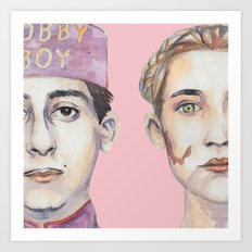 Agatha and Zero Art Print