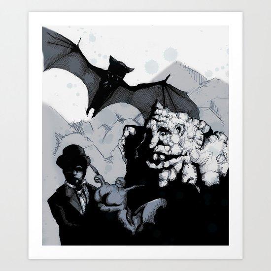 Neverending Story Art Print