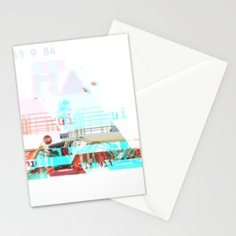 GLITCH NATURE #41: Oceanside Stationery Cards