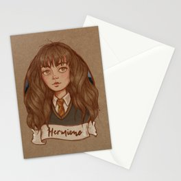 The Golden Trio - Hermione Stationery Cards
