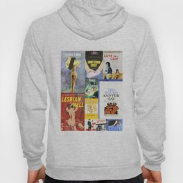 Lesbian Book Collage Hoody