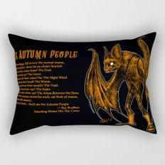Autumn People 2 Rectangular Pillow